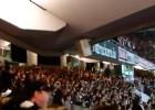 Espectacular la afición del Eintracht: ¡Tembló el estadio!
