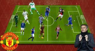 Los once fichajes que ya suenan para el Manchester United de Mourinho en la Premier League 2016/17