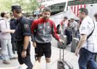El Sevilla llega a Madrid aclamado por su afición