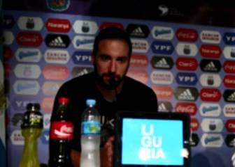 ¿Qué piensa Higuaín sobre el debut frente a la Roja?