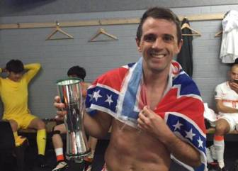 Montillo clasificó a cuartos y celebró con bandera de la U