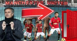 Los 10 señalados de la 'limpia' de Mourinho en el United