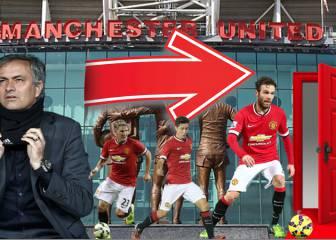 Los otros 9 descartes que haría Mourinho en el United