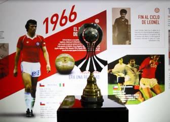 Así se armó el museo de la Roja en el estadio Nacional