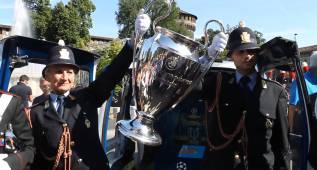 Milán se pone guapa para la copa: ¡Increíble bienvenida!