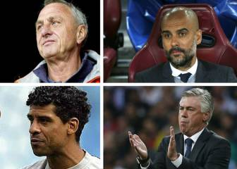 Zidane podría entrar en el club de los mitos si gana