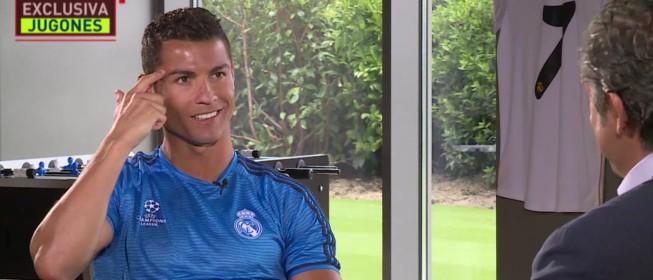 """Cristiano sobre Piqué: """"Es la hostia, celebra y piensa en mí"""""""