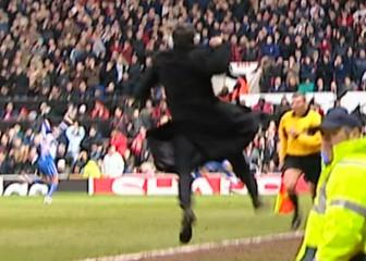 Aquel sprint de locura total de Mourinho en Old Trafford
