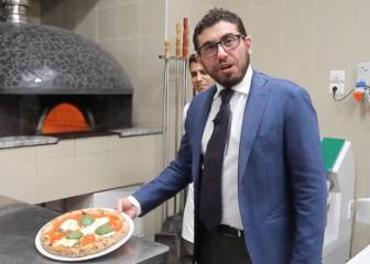 Las pizzerías de Milán quieren que el Atleti gane la final