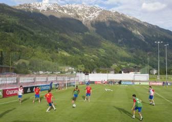 La Selección continúa preparándose en Austria