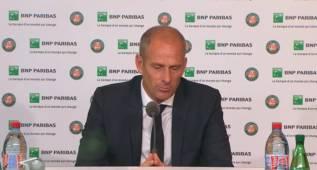 """EL director de Roland Garros: """"Nadal quería jugar"""""""