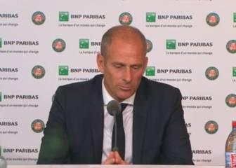 EL director de Roland Garros: