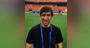 """Raúl se estrena en Twitter al grito de """"¡Hala Madrid!"""""""