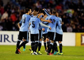 Uruguay remonta sin Suárez frente a Trinidad Tobago