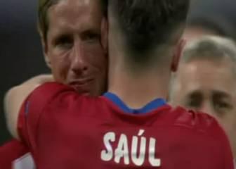 Orgullo del Atleti: las lágrimas de Gabi y Fernando Torres