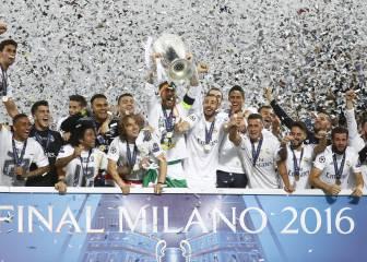 El momento de oro: así alzó Sergio Ramos la 'Orejona'