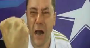 El llanto desatado de Roncero antes y después del penalti