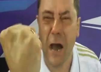 El llanto desatado de Roncero antes y después del penalti de Cristiano