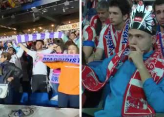 Cara y cruz: Así vivieron la final los fans de Madrid y Atleti