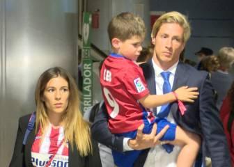 Caras de tristeza y decepción en la llegada del Atlético