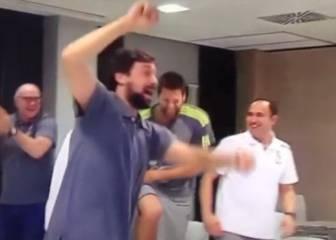 El Madrid de baloncesto se volvió loco con la Undécima
