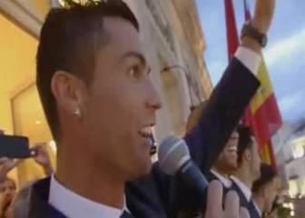 El show de Cristiano: cogió el micrófono y reventó Sol