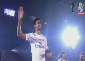 Arbeloa se acordó de Piqué en la celebración en el Bernabéu