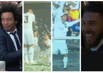 De las risas de Marcelo y Ramos al baile de Cristiano