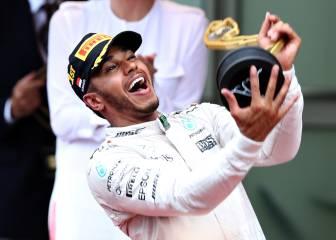 Hamilton logra en Mónaco su primera victoria