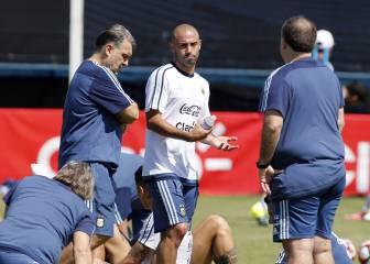 El primer entrenamiento de Argentina en Santa Clara