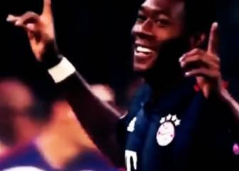 David Alaba, la zurda potente que interesa al Real Madrid