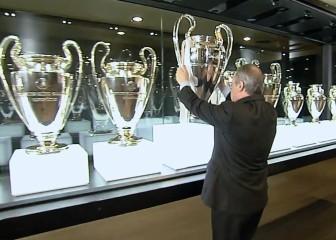 Florentino coloca la Undécima en la sala de trofeos