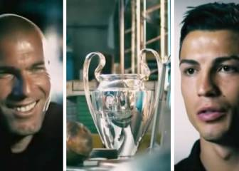 La historia de 'La Orejona' contada por Cristiano y Zidane