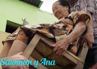 ¡Qué calidad humana! Rondón ayuda a una inválida a caminar