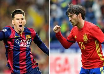 Messi vs Silva: ¿quién tira mejor el libre directo?