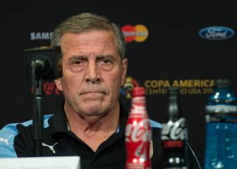 Tabárez confirma que Suárez no jugará ante México