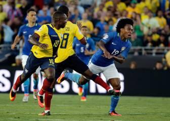 Brasil decepciona con un empate injusto ante Ecuador