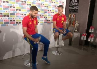 La anécdota que hizo reír a Jordi Alba y Lucas Vázquez