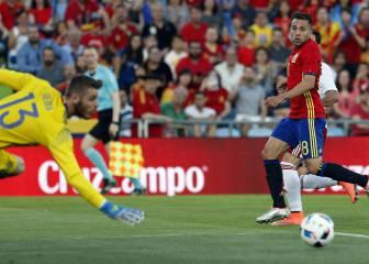 El despropósito de Jordi Alba en el gol de Georgia