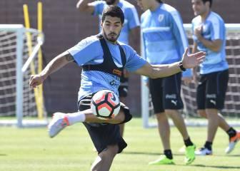 Luis Suárez no estará ante Venezuela