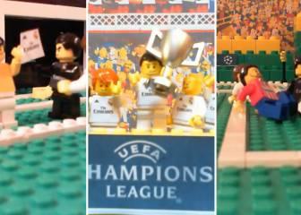 La Final de la Champions como no la habías visto: ¡¡con LEGO!!