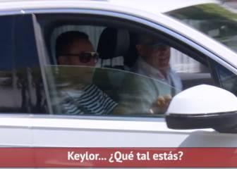 Keylor, tras la operación: