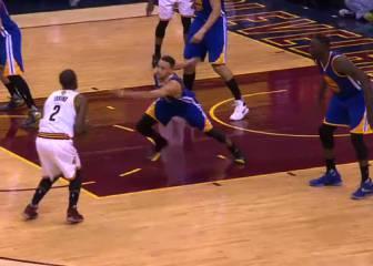 Stephen Curry no puede con Irving: ¡Se la volvió a liar!