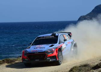 Neuville es el más rápido en el Rally de Italia; Sordo, cuarto