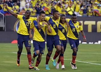 Ecuador se pasea, golea y jugará contra Estados Unidos