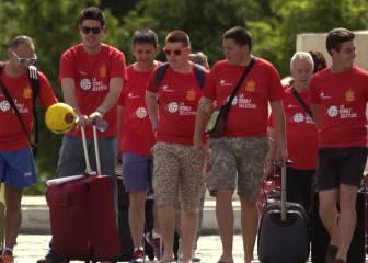 'La Otra Selección' llega a Francia para animar a La Roja