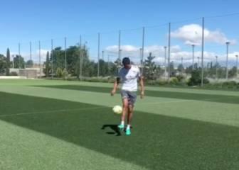 Varane continúa con su recuperación en Valdebebas