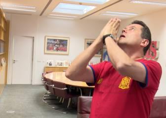 Roncero enloqueció con el gol de Piqué: