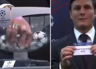 ¿Se refiere Blatter a este sospechoso sorteo de Zanetti?