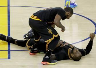 LeBron e Irving: 82 puntos para romper la historia de la NBA